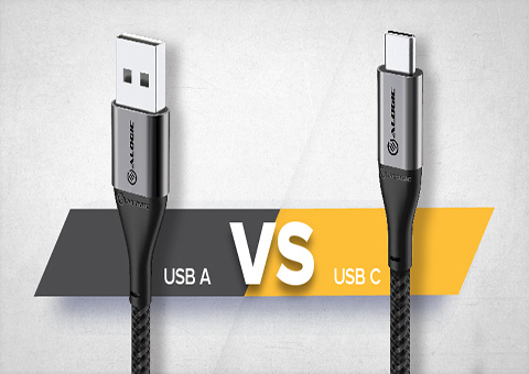 The difference between USB-C and USB 3.0 ports